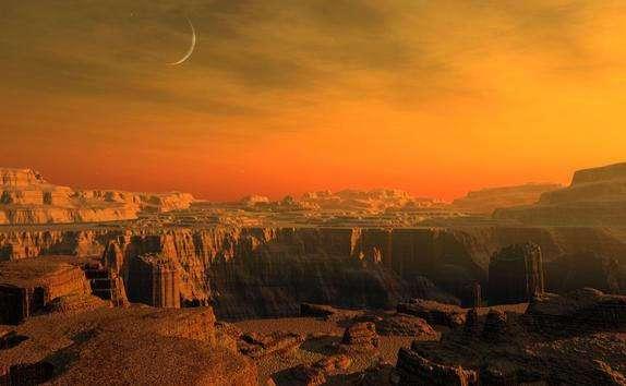 Удивительные факты о Марсе
