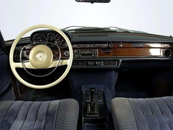Эволюция Mercedes S-Class (Интерьер) 1956-2010