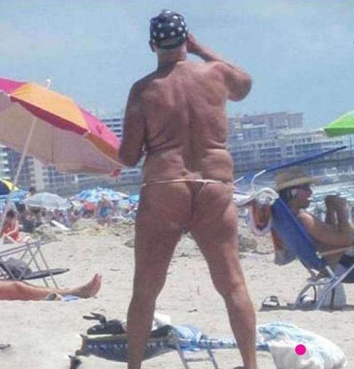 Лето в голову: 18 кошмарных пляжных нарядов