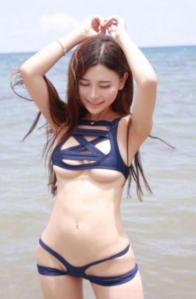 Стильные бандажные бикини взорвали Японию
