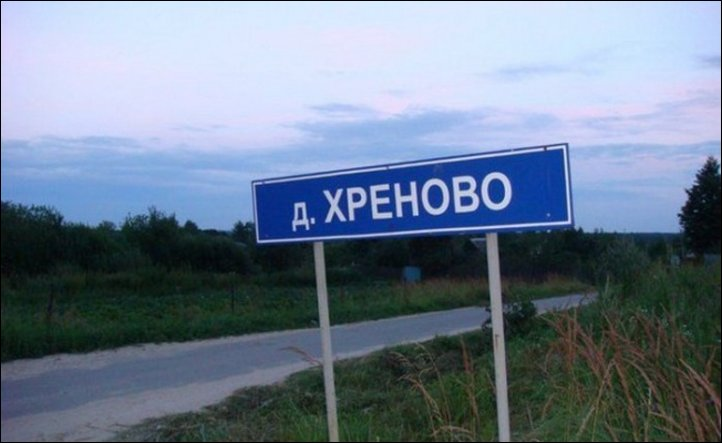 Самые интересные названия российских городов
