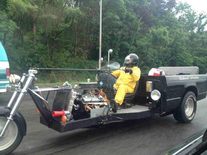 Мотоциклисты с выдумкой