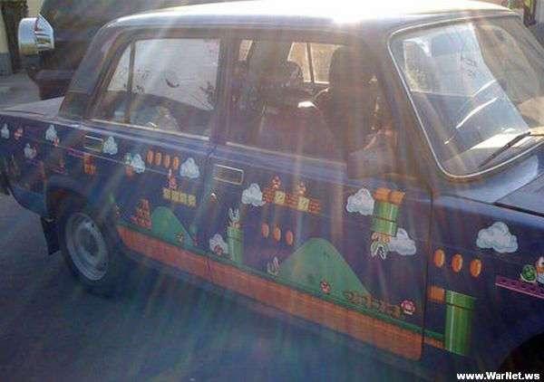 Автомобильные креативы