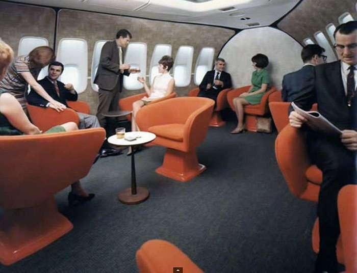 Роскошный полет в семидесятые на Boeing 747
