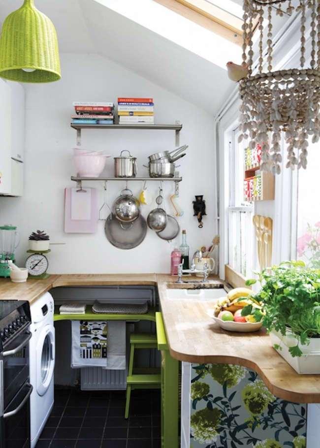 20 отличных идей для маленькой кухни