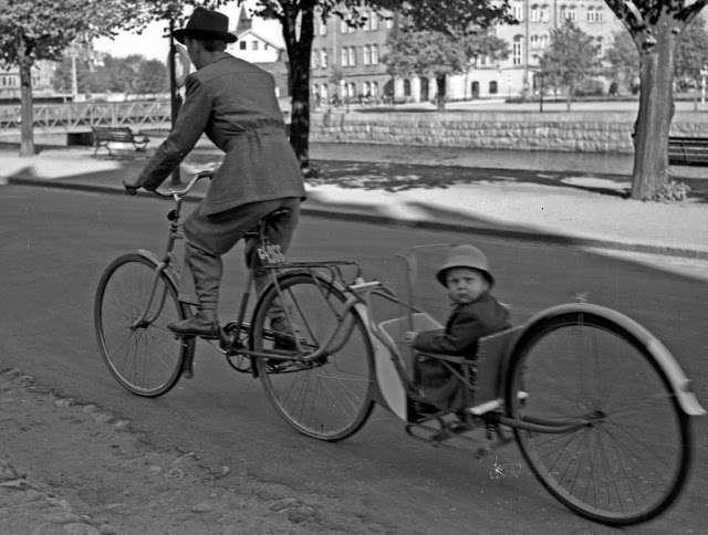 24 ретро фотографии о людях и их странных велосипедах