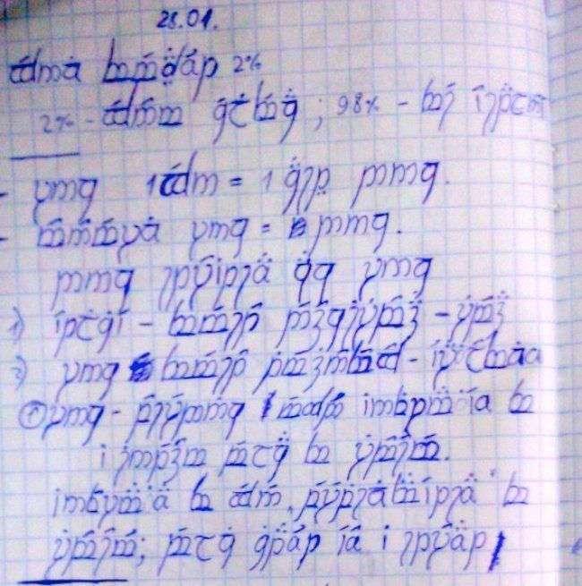 20 гениальных ответов детей в школьных тетрадях