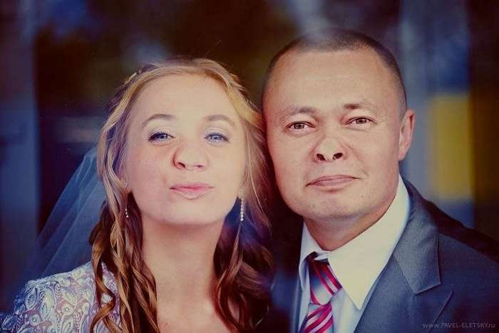 Безумные свадебные фото