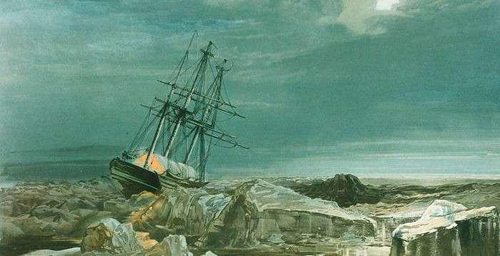 5 историй судов, застрявших во льдах