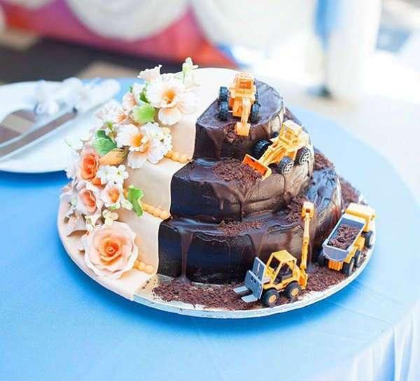 Невероятные дизайнерские торты