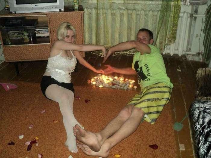 Бруталы и романтики из социальных сетей