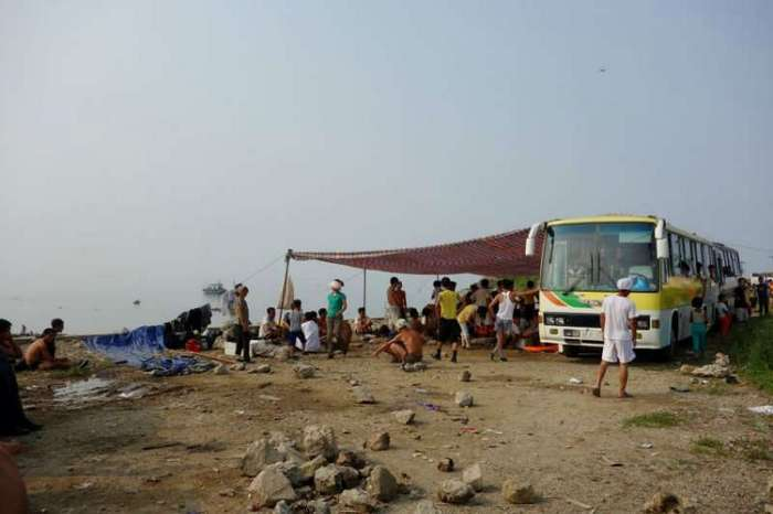 Как отдыхают на пляжах Северной Кореи
