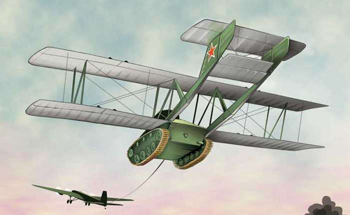 5 самых странных боевых машин в истории войн