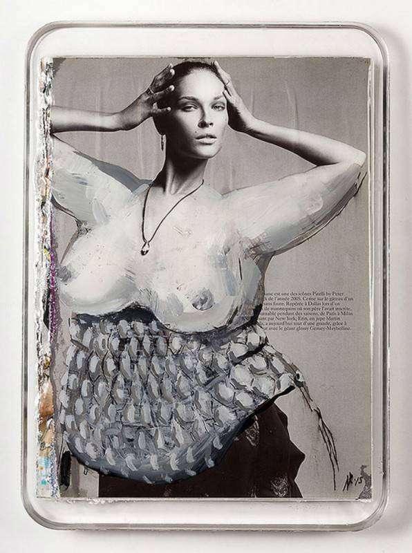 Турецкая художница заигрывает с недостижимыми размерами худосочных моделей