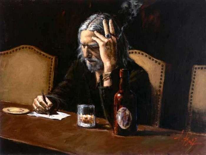 Ураган эмоций: атмосферные работы аргентинского художника