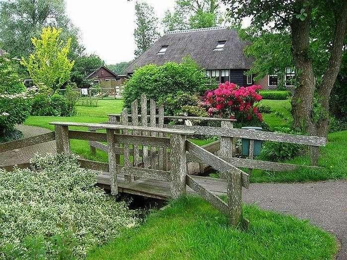 Гитхорн: деревня, где нет дорог