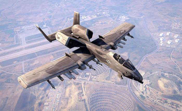 А-10: любимый штурмовик Чака Норриса
