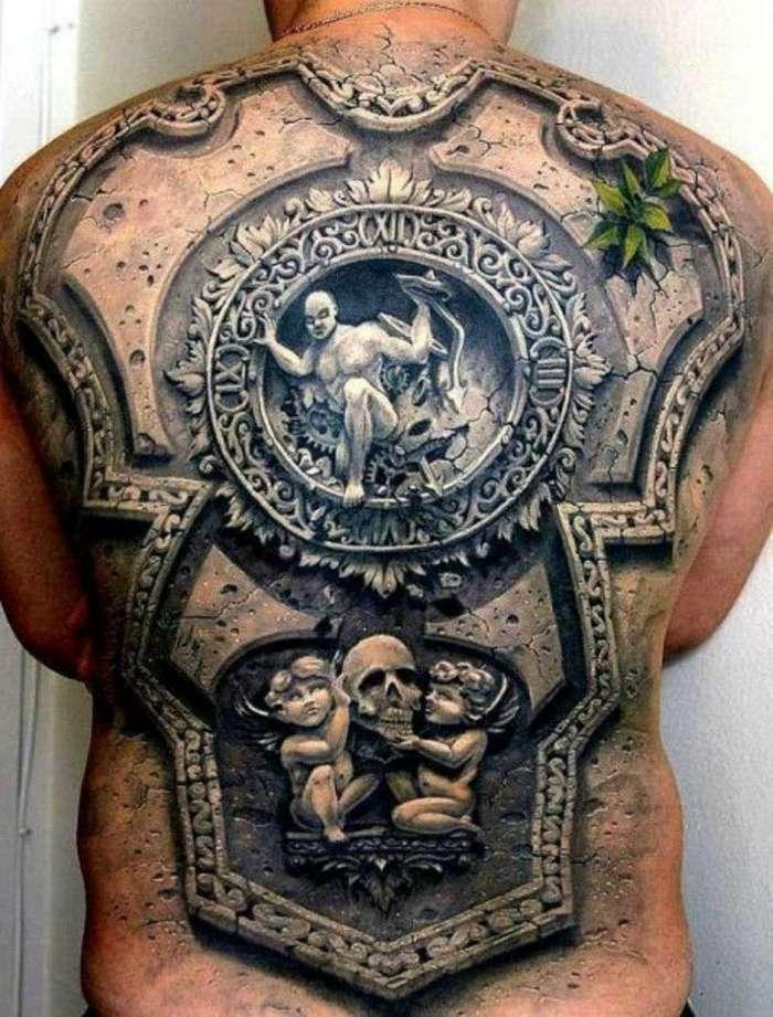 35 суперреалистичных 3D-татуировок