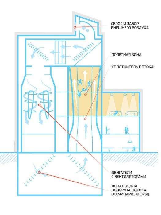 Акробатика в трубе: аэродинамический спорт будущего