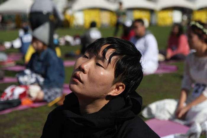 Активный отдых: ничегонеделание стало видом спорта в Южной Корее