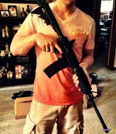 Американец про своё оружие