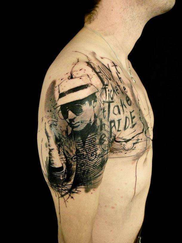 Шедевральные татуировки от французского тату-мастера