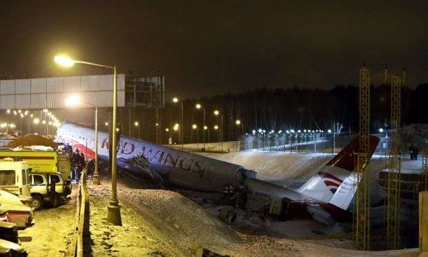Авиакатастрофы в российских аэропортах