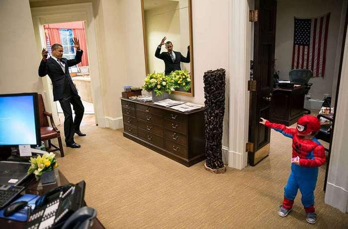 Быть фотографом президента