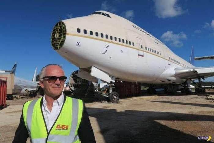 Бизнес на списанных самолетах