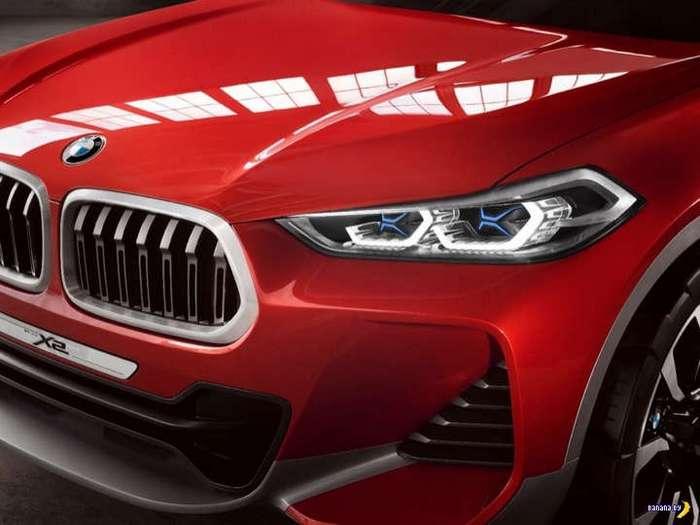 BMW X2 видели?