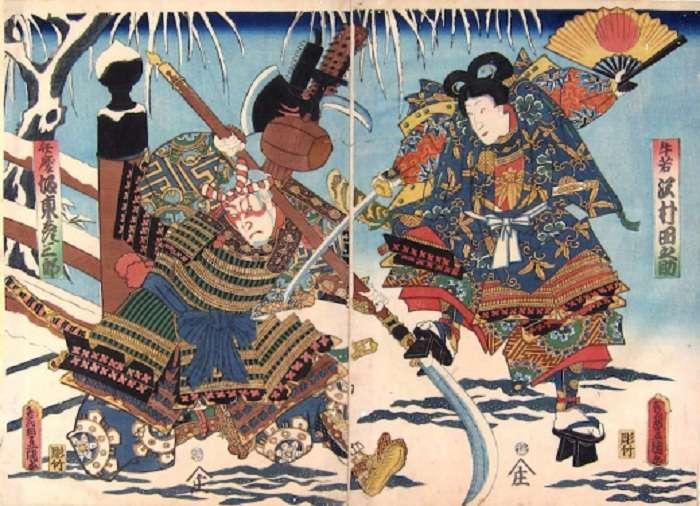 Боевые веера – оригинальное, но грозное оружие японских воинов