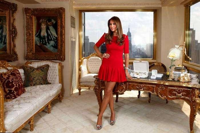 Будущая первая леди Соединенных Штатов? Меланья Трамп