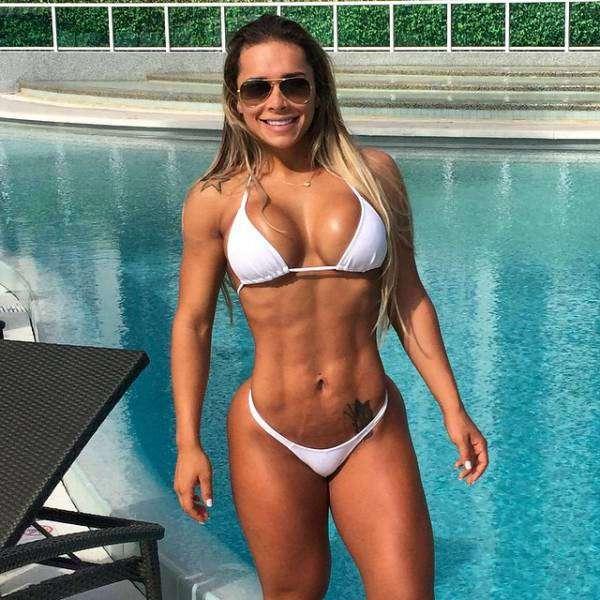 Бразильянка обрела фигуру своей мечты всего лишь за года тренировок