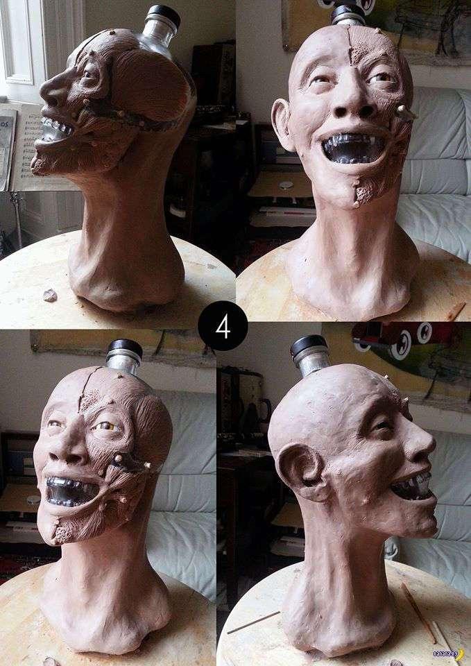 Череп от водки и восстановление лица