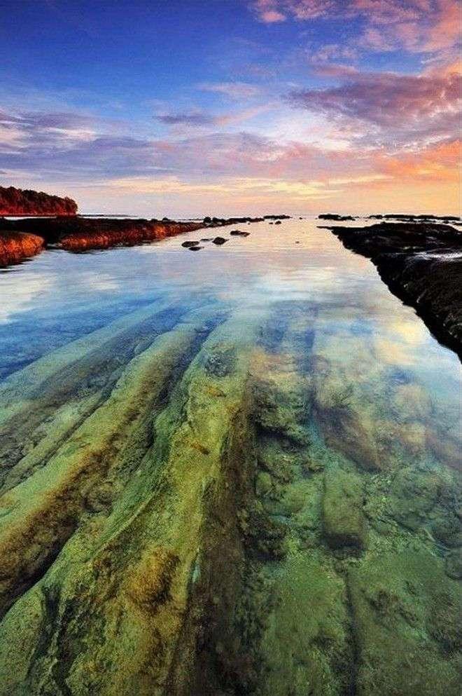 35 уникальных мест планеты, которые удивят кристально чистой водой