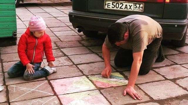 Проводить время вместе - бесценно папа, папа жжёт, прикол, родители, юмор