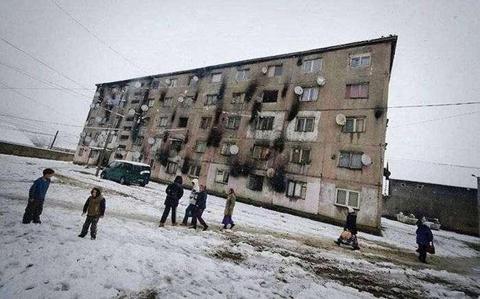 Неприглядный быт цыган