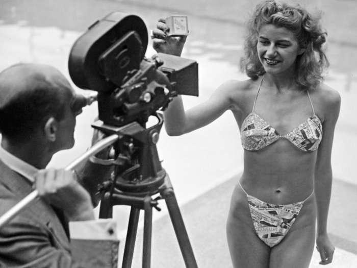 День рождения бикини: как французский дизайнер изобрел «атомную» модель купальника