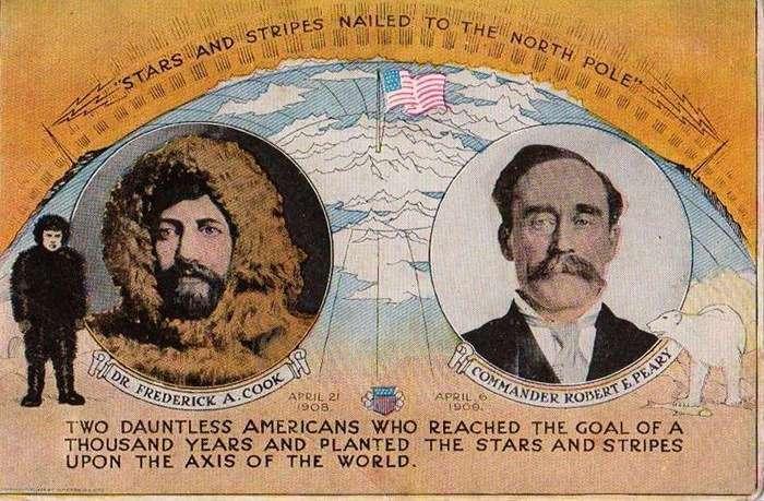 Детективная история покорения льдов, или Кто украл у Кука Северный полюс