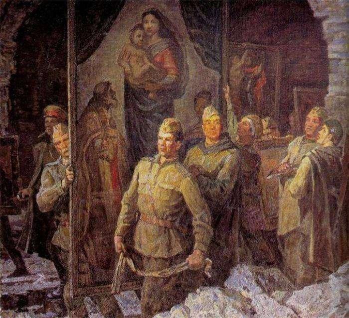 Трофеи Великой Отечественной войны, доставшиеся ССС