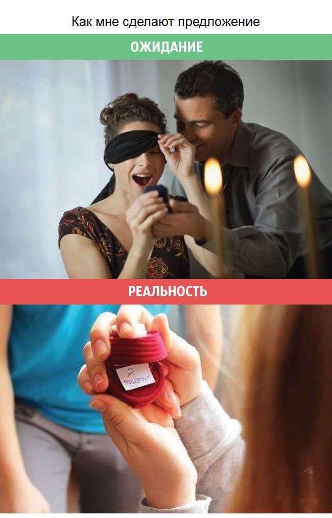 Радужные женские ожидания и суровая реальность