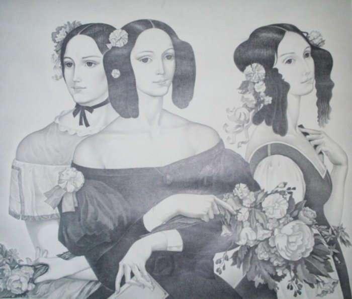 Екатерина Гончарова (Дантес): жизнь в тени красавицы-сестры, с клеймом жены убийцы Пушкина