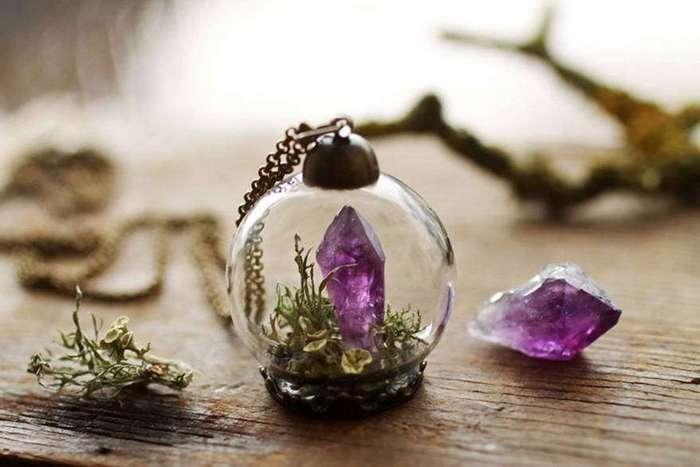 Эко-драгоценности или как никогда не расставаться с природой в каменных джунглях