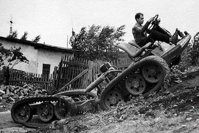 Эволюция советского вездехода