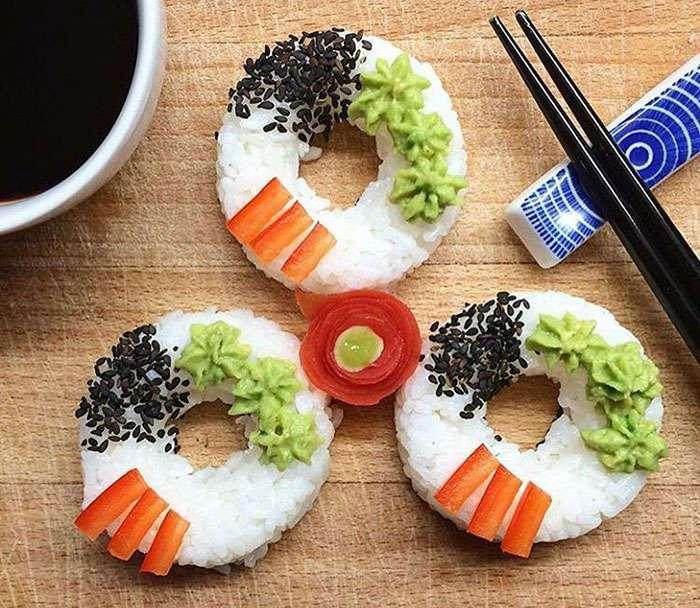 Гибрид суши и пончика: новый кулинарный тренд набирает обороты