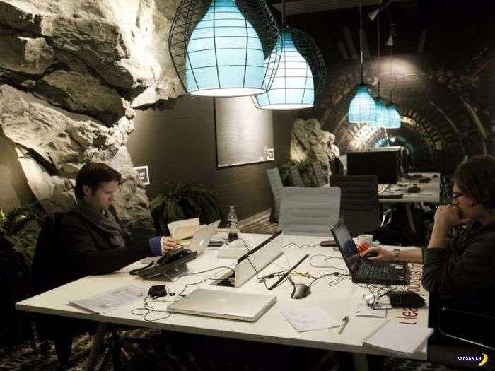 Google гордится своими офисами