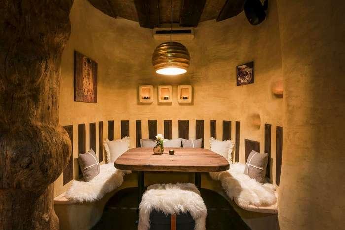 Горный ресторан Hendl Fischerei в Австрии