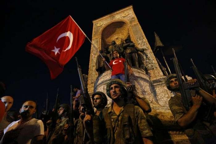 Государственный переворот в Турции