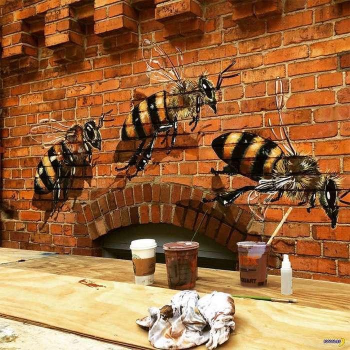 Художник, что рисует пчёл