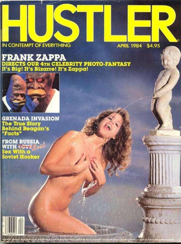 10 самых скандальных обложек журнала Hustler